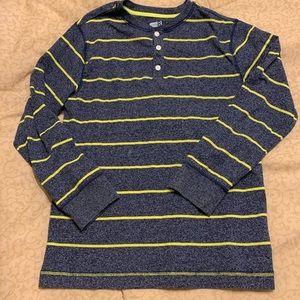 🛍 Boy's Striped Henley by Crazy 8 - size 10-12